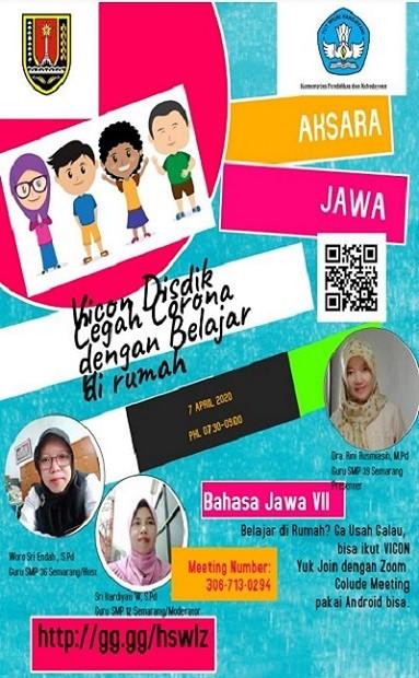 Belajar di Rumah Mapel Bahasa Jawa