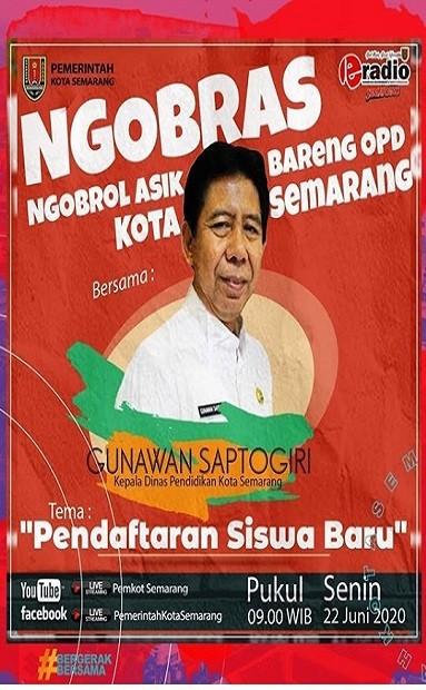 Ngobrol Asik bersama Kepala Dinas Pendidikan Kota Semarang