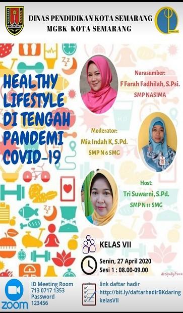 Healty Lifestyle Di tengan Pandemi COVID-19