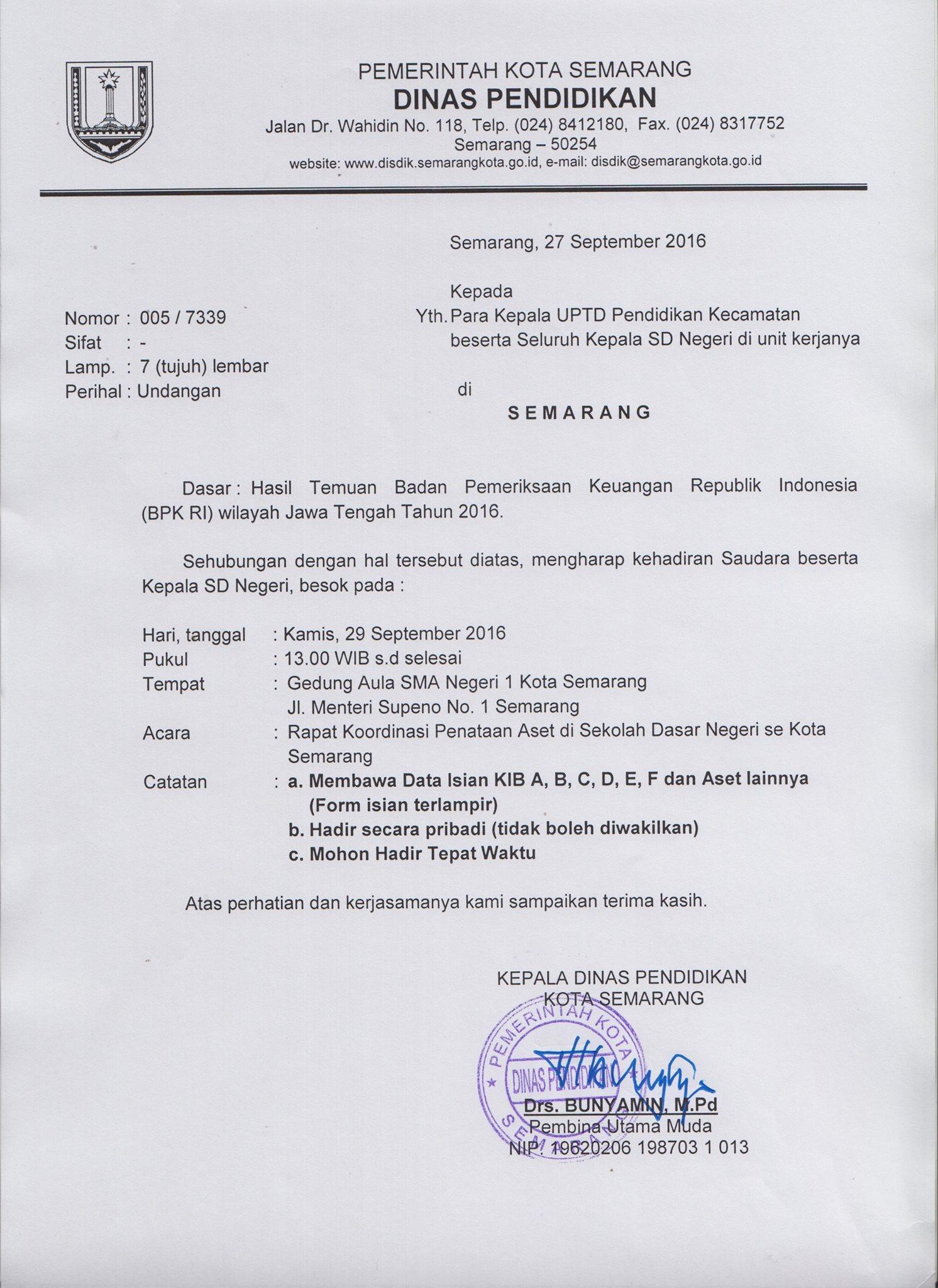 Disdik Kota Semarang
