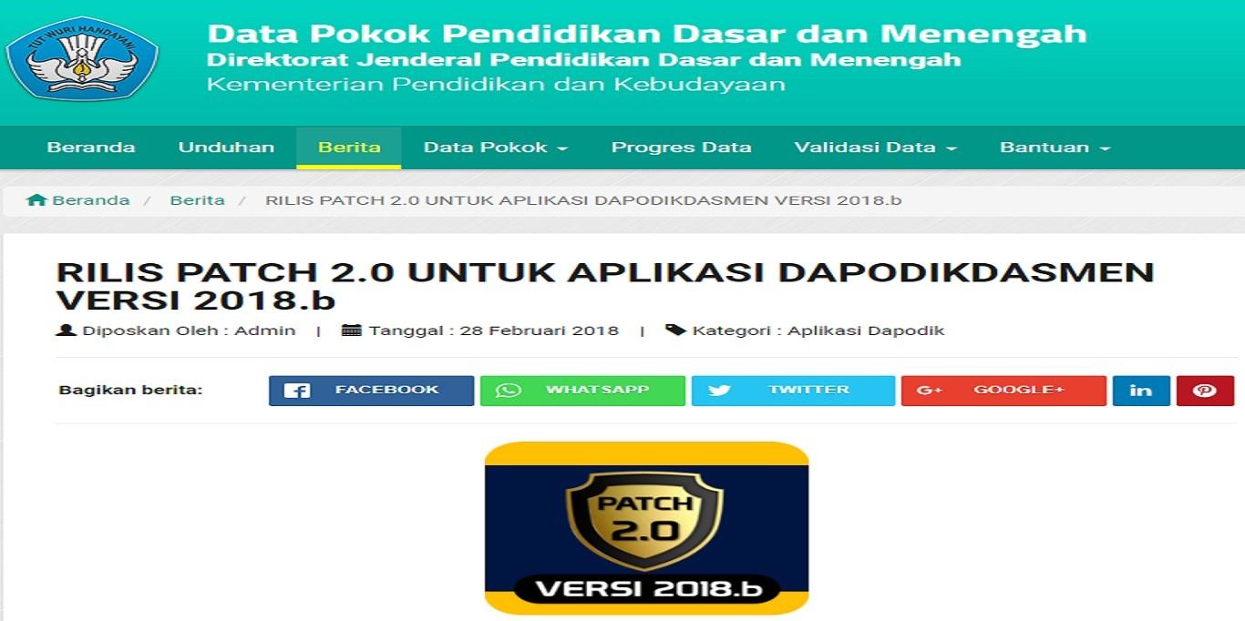 Halaman lengkap berita