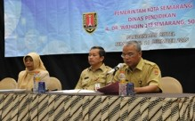 Sosialisasi Penguatan Pelaku Pendidikan Keluarga di Satuan Pendidikan Tingkat Kota Semarang