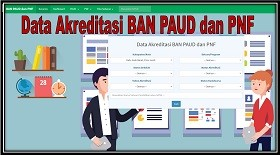 Data Akreditasi PAUD - PNF