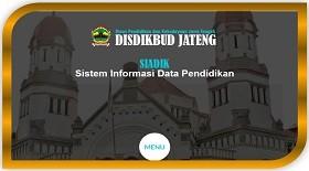Sistem Informasi Data Pendidikan Prop Jateng