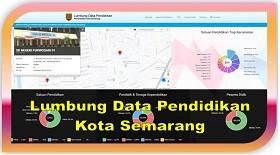 Lumbung Data Pendidikan Kota Semarang